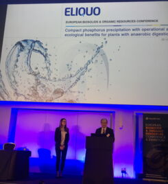 ELIQUO presented on EloVac®-P at the European Biosolids Conference in Manchester, UK